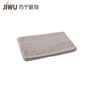 【苏宁极物】埃及进口长绒棉方巾(单条装)规格 34*35cm 灰色