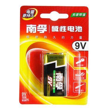 【易购】南孚碱性电池 9v1粒装 6LR61-1B/9V