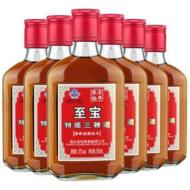 【易购】【苏宁易购超市】张裕(CHANGYU) 至宝特质三鞭酒(200ml)200ml*24整箱装