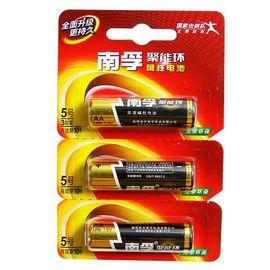 【易购】南孚(NANFU) 5号碱性电池 3粒/卡 LR6(单位:卡)