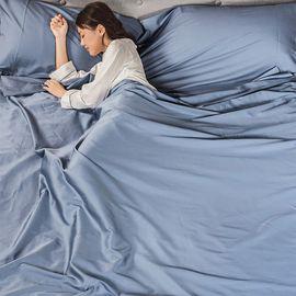 唯品优选【唯品会】床上套件 热销款柔软亲肤长绒棉床上旅行隔脏睡袋