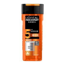 洗发水 欧莱雅男士去屑洗发露(维他强韧)400ml 男士洗发水  头发清洁