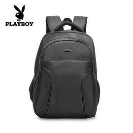 花花公子 双肩包时尚潮流多功能背包防泼水大容量书包旅行包