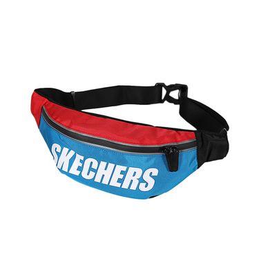 斯凯奇 Skechers 男女同款时尚腰包 休闲单肩斜挎包 SMBUS19D006