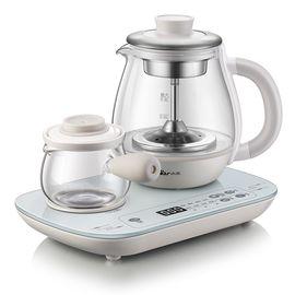 Bear 小熊煮茶器 玻璃加厚多功能办公室家用迷你小型蒸汽喷淋式花茶壶1.1升  ZCQ-A08E1
