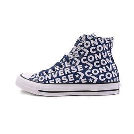 匡威 Converse 帆布鞋男鞋女鞋新款高帮休闲板鞋印花字母163952