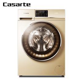 Haier 海尔卡萨帝(Casarte)  C1 HU10G3 10公斤空气洗变频洗烘一体机滚筒洗衣机 香槟金