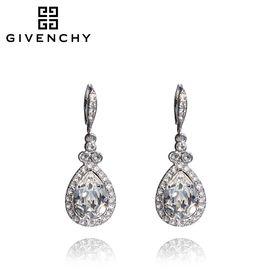 Givenchy/纪梵希 奢华系列银色水滴仿水晶女士耳坠 60414660