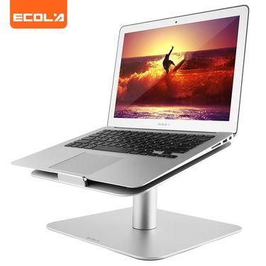 ECOLA/宜客莱 笔记本支架 办公特供360度可旋转 人体工学护颈椎家用电脑散热器便捷安装托架增高底座 A22