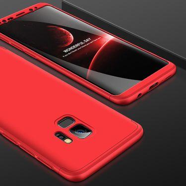麦阿蜜 三星S9手机壳S9保护套G9600个性5创意撞色三段式拼接全包防摔轻薄磨砂硬壳时尚男女新款