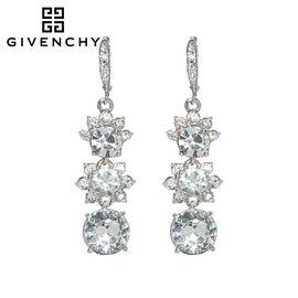 Givenchy/纪梵希 奢华花语系列 施华洛世奇人造水晶女士耳坠 60450954