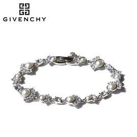 Givenchy/纪梵希 优雅时尚仿珍珠女士手链 60468638-NY0 银色