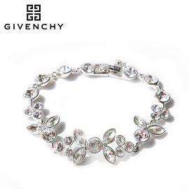 Givenchy/纪梵希 奢华华丽系列 施华洛世奇人造水晶银色女士手链 60468668