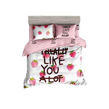 杯具熊 (BEDDYBEAR)床上用品纯棉床单杯具熊四件套被套可爱儿童成人被罩亲子