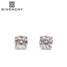 Givenchy/纪梵希 经典百搭款单颗圆形锆石女士耳钉79946989