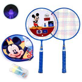 DISNEY 迪士尼儿童大圆拍初学训练羽毛球拍 亲子互动玩具 米奇DDA51868-A