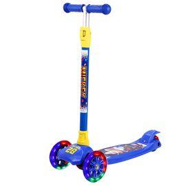 DISNEY 迪士尼儿童滑板车小孩玩具车四轮闪光可拆卸升降摇摆车小孩滑行脚踏车米奇DCA71115-A