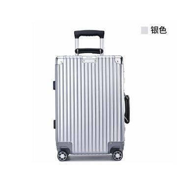 LANVERA 朗薇铝框拉杆箱万向轮24寸旅行箱男密码箱行李箱女韩版小清新 L0703