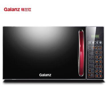 格兰仕(Galanz)家用小型迷你平板光波炉 微波炉烤箱一体机  光波烧烤 便捷预设菜单G80F20CN2L-B8(R0)