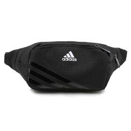 阿迪达斯 adidas 腰包 EC WAIST 休闲旅游挎包运动腰包 AJ4230 黑色