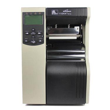 【易购】斑马(ZEBRA) 重工业级不干胶打印机 宽幅标签条码打印机 斑马110XI4(600dpi分辨率)原装正品
