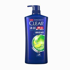 男士洗发水 清扬男士 清爽控油型去屑洗发水900g 洗发露 洗发乳