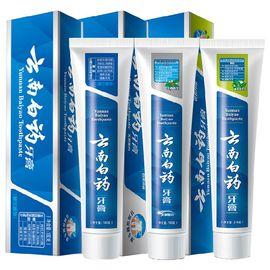云南白药 人气牙膏套装3支装 (留兰香型180g+薄荷清爽型210g+冬青香型165g)