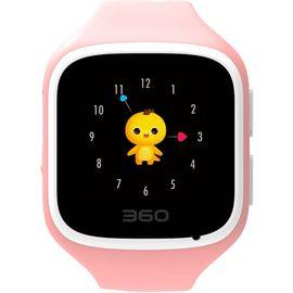 【易购】360儿童手表5 W563 (蜜桃粉)