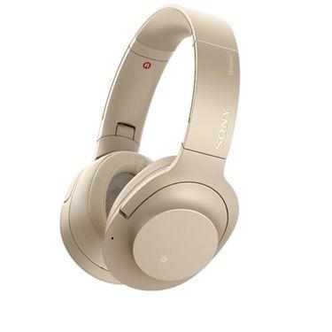 【易购】索尼(SONY)无线降噪耳机WH-H900N(浅金色)