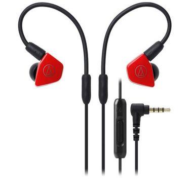 【易购】铁三角(audio-technica)入耳式耳塞 ATH-LS50iS (红色)