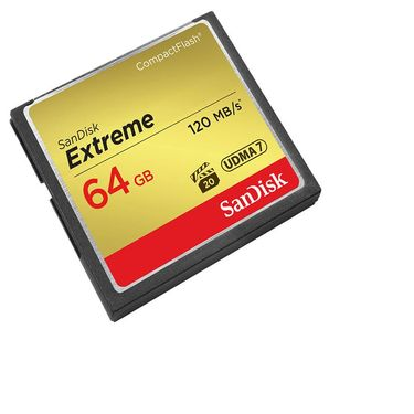 【易购】闪迪SanDisk CF卡64G 120M 800X高速存储卡 单反相机内存卡
