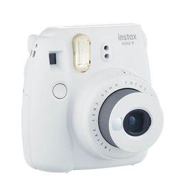 【易购】富士(FUJIFILM)INSTAX 一次成像相机立拍立得 mini9 烟灰白 实用套餐二(含20张胶片)