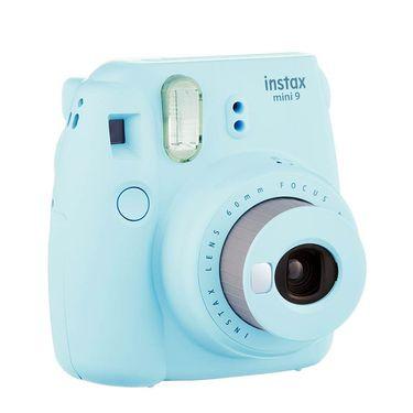 【易购】富士(FUJIFILM)INSTAX 一次成像相机立拍立得 mini9 冰霜蓝 实用套餐二(含20张胶片)
