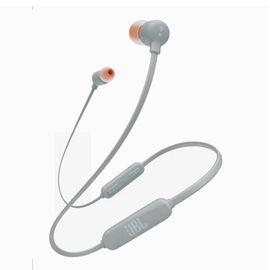 【易购】JBL T110BT 无线耳机蓝牙4.0 入耳式耳机 运动耳机 手机耳机 苹果安卓通用 磁吸式蓝牙耳机 灰色
