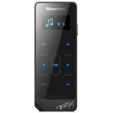 【易购】纽曼Newsmy RV31 16G 黑色 录音笔 合金机身 触摸操作 FM收音 AB复读 Mp3 录音器 专业拾