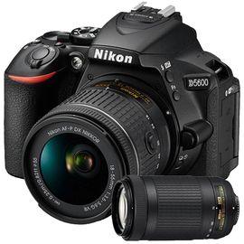 【易购】尼康(Nikon)数码单反相机 D5600 (AFP 18-55mm VR +AFP 70-300mm G )双