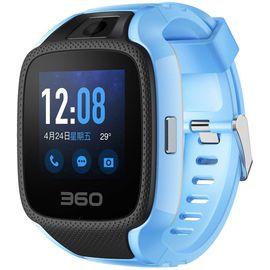 【易购】360电话手表X1运动快充版 轻薄防水拍照快充 彩屏定位高精度传感器 360电话手表W702 天空蓝