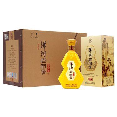 【易购】洋河老字号明字号42度500ml*6瓶 绵柔型白酒