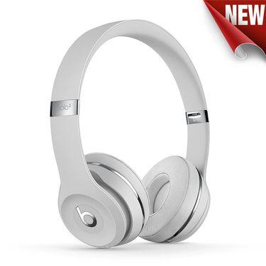 【易购】MUH52PA/A Beats Solo3 Wireless 头戴式耳机 - 丝缎银