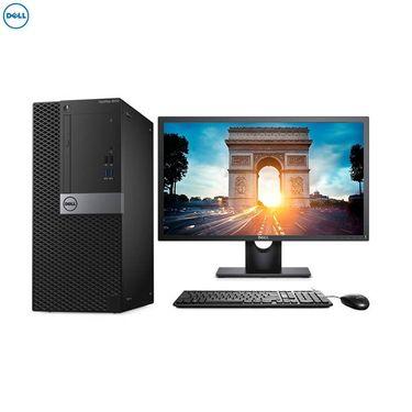 【易购】戴尔(DELL)商用Optiplex3050MT台式电脑 21.5英寸显示器(G3930 4G 500G 刻录W