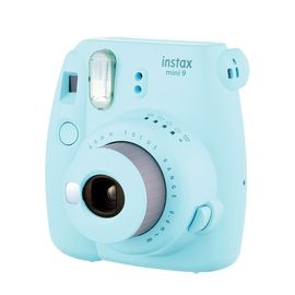 【易购】富士(FUJIFILM)INSTAX 一次成像相机立拍立得 mini9 冰霜蓝 奢华套餐三(含30张套餐)