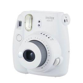 【易购】富士(FUJIFILM)INSTAX 一次成像相机立拍立得 mini9 烟灰白 奢华套餐三(含30张相纸)