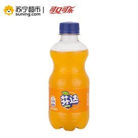 【易购】芬达(Fanta) 橙味汽水 300ml*12瓶/箱