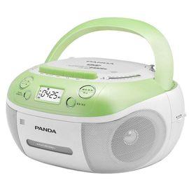 【易购】熊猫 CD-860 DVD/VCD/CD复读机播放机磁带U盘TF卡转录复读机 绿色