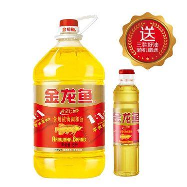 金龙鱼 食用油 黄金比例食用调和油 5l(新老包装随机发放)
