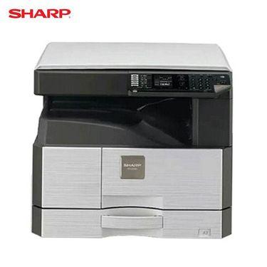 【易购】夏普(SHARP)AR-2348SV A3黒白数码复合机 标配(23页/分、打印复印、彩色扫描 、单纸盒、350