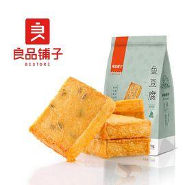 良品铺子烧烤味鱼豆腐 零食小吃 豆腐干 豆干豆腐皮 辣条袋装170g