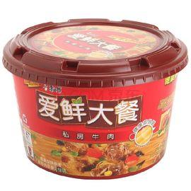 康师傅 方便面(KSF)爱鲜大餐 私房牛肉面 泡面碗装