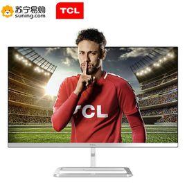 【易购】TCL T24N1 23.8英寸微边框广视角 金属超薄高清不闪屏 LED背光液晶电脑显示器