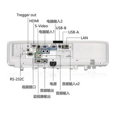 【易购】【套餐】爱普生(EPSON)EB-C1040XN【免费安装】教育防尘投影机商务会议投影家用高清投影仪4000流明